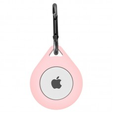 Apple AirTag Silicone Case Pink