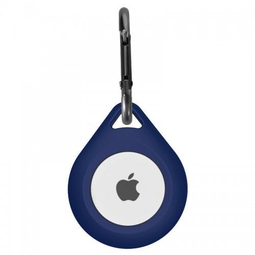 Apple AirTag Silicone Case Blue