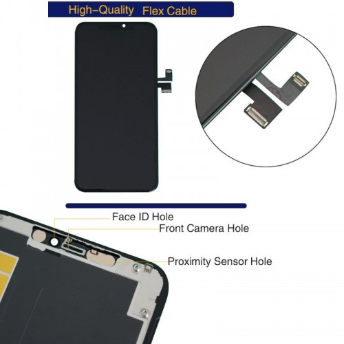GW iPhone 11 Pro Max OLED Display Touch Screen Digitizer Replacement Black