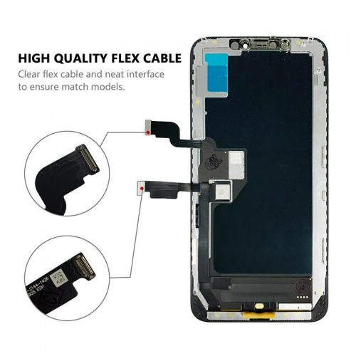MP⁺ iPhone XS Max Replacement OLED Touch Screen Black