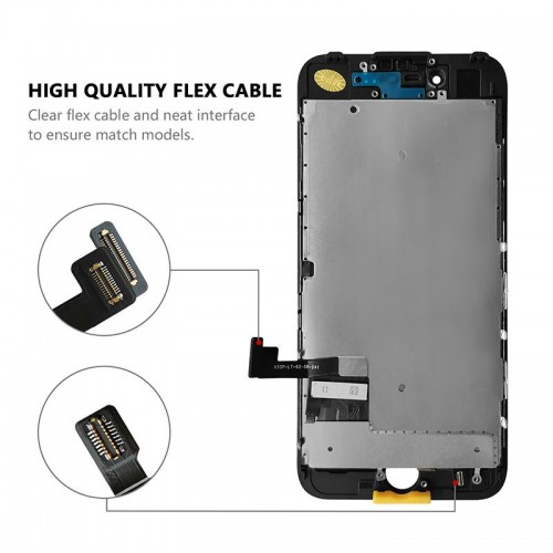 MP⁺ iPhone 7 Replacement LCD Touch Screen Black