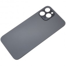 Big Hole Replacement Back Cover For iPhone 12 Pro Graphite