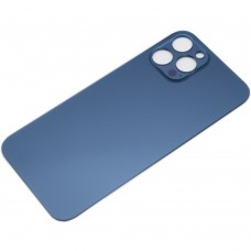 Big Hole Replacement Back Cover For iPhone 12 Pro Max Pacific Blue