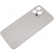 Big Hole Replacement Back Cover For iPhone 12 Pro Gold