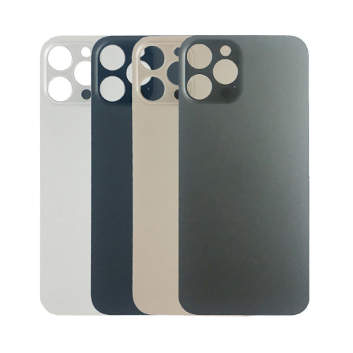 Big Hole Replacement Back Cover For iPhone 12 Pro White