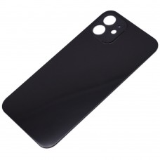 Big Hole Replacement Back Cover For iPhone 12 Black