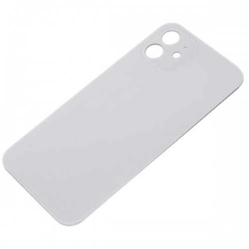 Big Hole Replacement Back Cover For iPhone 12 Mini  White
