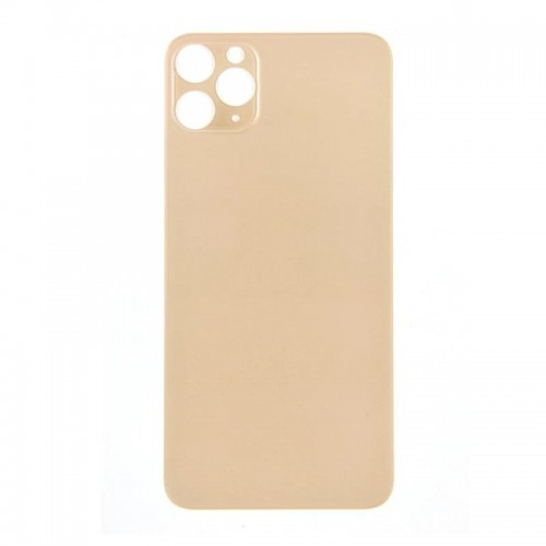Big Hole-Rear Glass Battery Back Cover Replacement For iPhone 11 Pro 5.8'' Gold