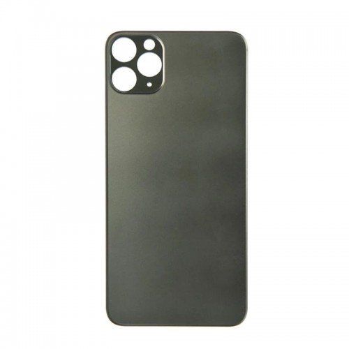 Big Hole-Rear Glass Battery Back Cover Replacement For iPhone 11 Pro Max Green