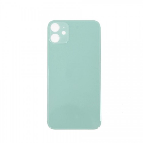 """Big Hole-Rear Glass Battery Back Cover Replacement For iPhone 11 6.1"""" Green"""