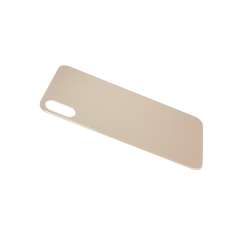 Big Hole-Rear Glass Battery Back Cover Replacement For iPhone XS Max Gold