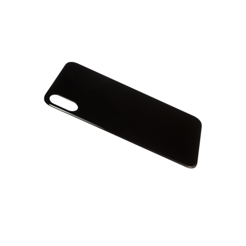 Big Hole-Rear Glass Battery Back Cover Replacement For iPhone XS Max Black