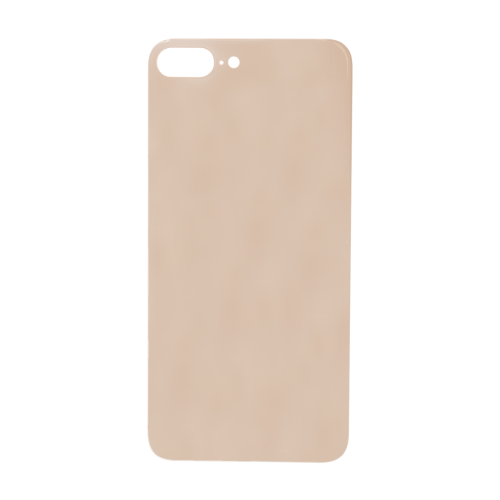 Big Hole-Rear Glass Battery Back Cover Replacement For iPhone 8 Plus Gold