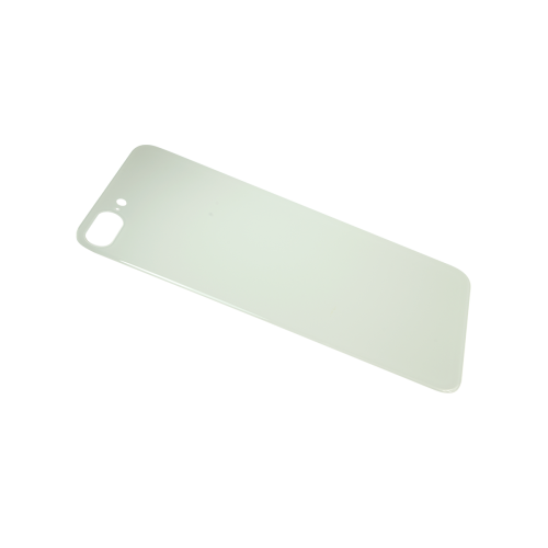 Big Hole-Rear Glass Battery Back Cover Replacement For iPhone 8 Plus White