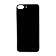 Big Hole-Rear Glass Battery Back Cover Replacement For iPhone 8 Plus Black