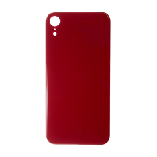 Big Hole-Rear Glass Battery Back Cover Replacement For iPhone XR Red