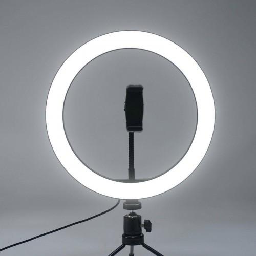 12 inch LED Ring Light 3 Colour Dimmable Lighting Kit