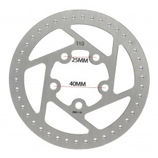 110 MM Scooter Brake Disc Rear Wheel Replacement For Xiaomi M365/S1