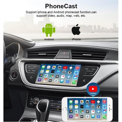 Wireless Car Play interface Black