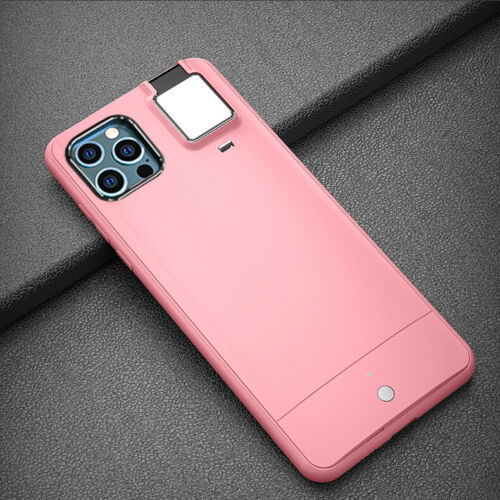 Selfie Flash Light Phone Case for iPhone 11 Pink