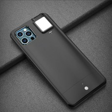 Selfie Flash Light Phone Case for iPhone 11 Black