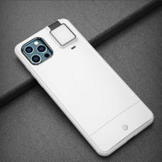 Selfie Flash Light Phone Case for iPhone 11 Pro Max White