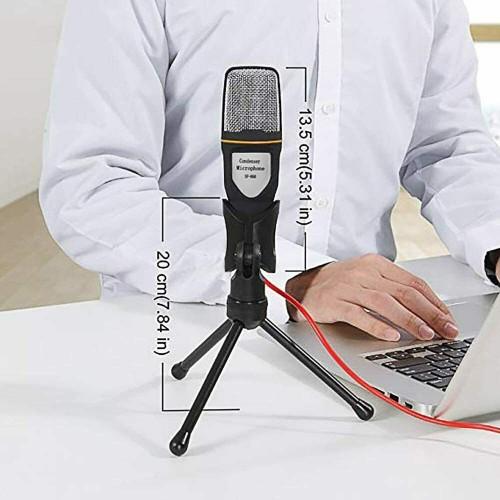 Studio Audio Recording Tripod Stand Mic Kit