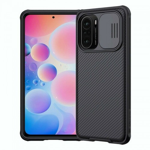 Nillkin Camshield Pro Case For Xiaomi Poco F3 / k40 / k40 Pro / k40 Pro+ Black