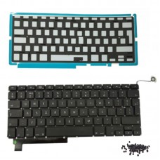 """Keyboard With Backlight Replacement For Apple MacBook Pro 15"""" A1286 Laptop"""
