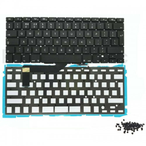 """Keyboard With Backlight Replacement For Apple MacBook Pro Retina 15"""" A1398 Laptop"""