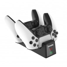 PS5 Dual Controller Fast Charger Charging Dock Station