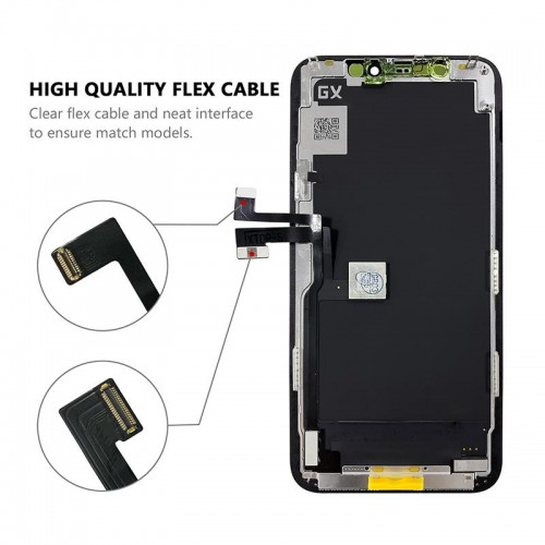 MP⁺ iPhone 11 Pro Replacement OLED and Touch Panel Assembly Part Black