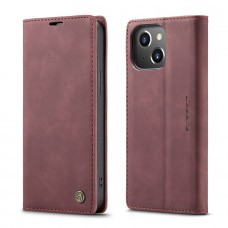 Caseme-013 Magnetic Card Case For iPhone 13 - Red