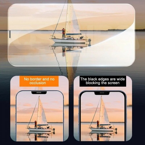 Clear Tempered Glass for iPhone 13 Pro Max
