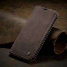 Caseme-013 Magnetic Card Case For iPhone 13 Pro Max - Brown