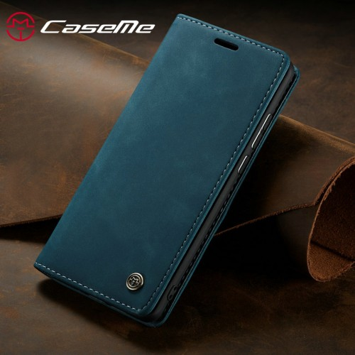 Caseme-013 Magnetic Card Case For iPhone 13 Pro - Green