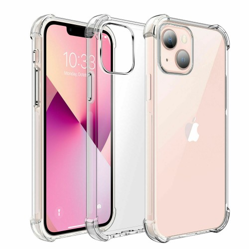 Shockproof TPU+PC Clear Case for iPhone 13