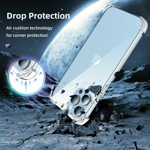 Shockproof TPU+PC Clear Case for iPhone 13 Pro