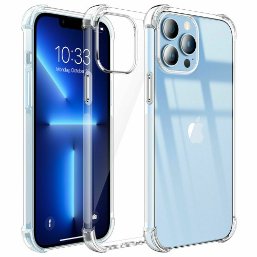 Shockproof TPU+PC Clear Case for iPhone 13 Pro Max