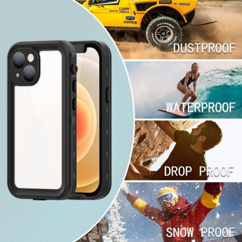 Redpepper Professional Waterproof Case Dot Series For iPhone 13 Mini Black