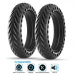 """For Xiaomi M365/Pro/1S Electric Scooter Solid Tire Wheel Non-Pneumatic Tyre 8.5"""" Black"""