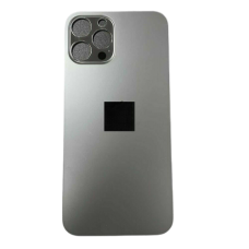 Big Hole Replacement Back Cover For iPhone 12 Pro Gray