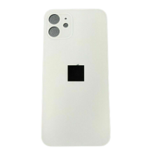 Big Hole Replacement Back Cover For iPhone 12 White