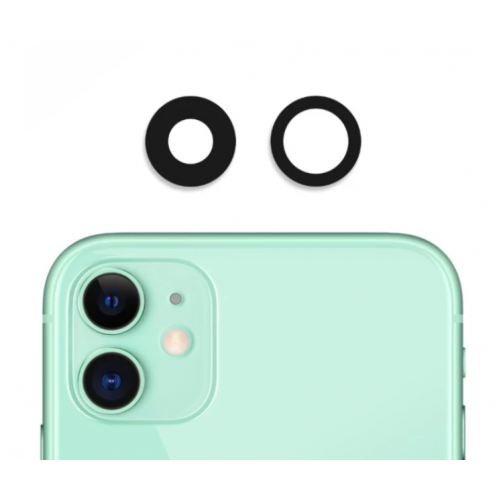 Camera Lens Cover Glass Without Frame For iPhone 11