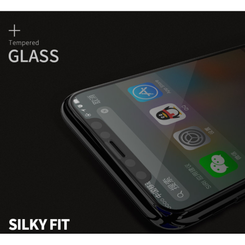Remax 3D Full Cover Tempered Glass For iPhone XR Black