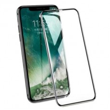 9H Clear Tempered Glass for iPhone XS Max Black