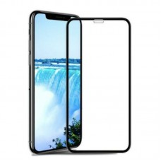 9H Clear Tempered Glass for iPhone XR Black