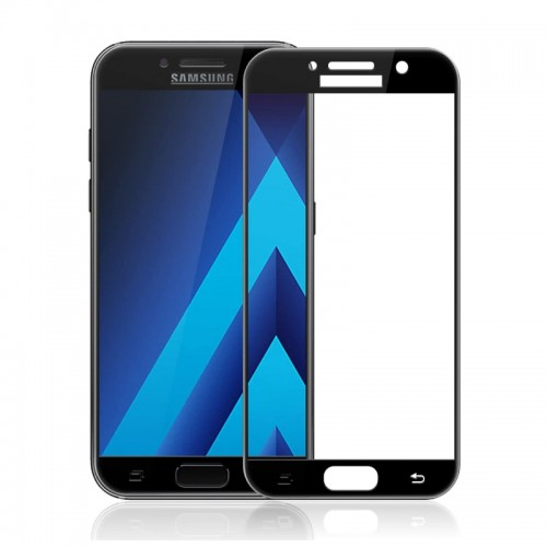 Tempered Glass for Samsung A3 (2017) Black