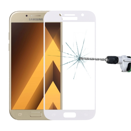 Tempered Glass for Samsung A5 (2017) White