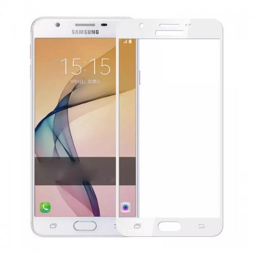 Tempered Glass for Samsung J5 (2016) White